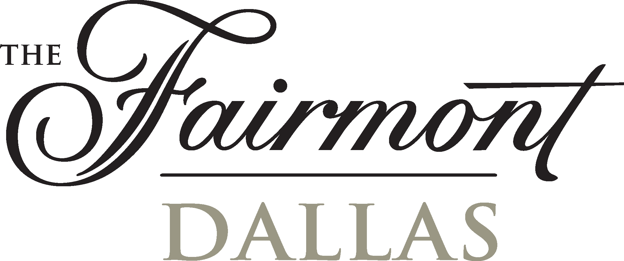 FairmontDallasLogo Two Tone Hi Res